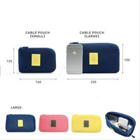 Wholesale Shockproof Digital Products Storage Bags Watch Data Line Mobile Hard Disk Storage Case Waterproof Travel Portable Storage Box Colors