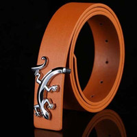 Wholesale 2016 Famous Buckle Fashion Men Belts Luxury Leather PU Belts For Mens Designer Belt Gold Smooth Buckle Cowboy Hip Strap Size cm