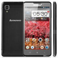 Precio de Lenovo p780-Original <b>Lenovo P780</b> 3G WCDMA Quad Core Teléfono Celular 1G RAM 4G ROM con 5.0Inch IPS 8.0MP Cámara MTK6589 Andorid Teléfonos