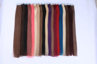 Wholesale PU Skin Weft Tape In hair extension straight model smooth and soft piece per pack