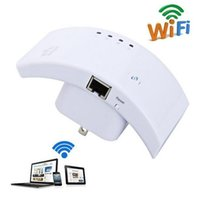 al por mayor wifi extender eu-US UK AU UE Inalámbrico Wifi Repetidor 300Mbps Extender 802.11n b g 2.4GHz WPA2, WPA y WEP Red WLAN Router Range Booster Wifi Finder