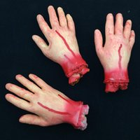animal organs - Scary Broken bloody hand Bleeding Human Organs Horror Halloween Party Decoration