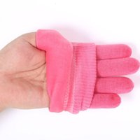 Wholesale Gel Spa Silicone Gloves Colors Soften Whiten Exfoliating Moisturizing Treatment Hand Mask Care Repair Hand Skin Beauty Tools