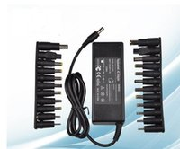 Wholesale by dhl or ems AC Power Supply W V A Universal Laptop Charger for Acer ASUS DELL Thinkpad Lenovo Samsung Laptop
