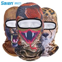 Unisex Printed Spring & Fall Ski Mask Balaclava Mask Winter Face Mask Neck Warmer with 3D Animal Printed