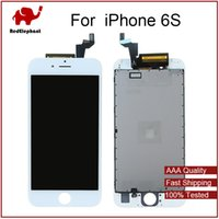 Wholesale Best AAA For iPhone S LCD Assembly Inch Display With Touch Screen Digitizer Replacement free DHL Shipping