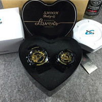 auto coupling - Top Quality BABY G Men Women LED watches Waterproof Lovers Couple Shocked G100 watches G Presents Heart Original Box