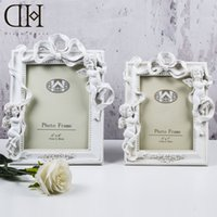Wholesale Luxury Unique Photo Frame Resin Europe Style angel Fashion Vintage Ornaments Photo Frames Home Accessories home decoration xmas