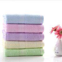 bamboo pieces manufacturers - factory bamboo fiber towel gift manufacturers selling corn merchandise pieces set creative home use children face towel cm