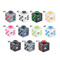 big ball toy - 2016 Hot selling novelty Fidget Cube stress relief toys for kids and adults colors Decompression stress balls with Retail Box