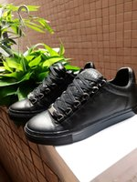 Wholesale Original version Arena Kanye West Man Casual Shoes Flat Arena Wrinkled Leather Low Top Lace up Male Fashion Shoes Zapatillas Hombre