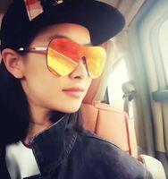 Future Bridge Gafas de sol Mujer 2016 Classic Mirror Lens Oval Italia Diseñador Gafas de Sol Oculos De Sol Feminino