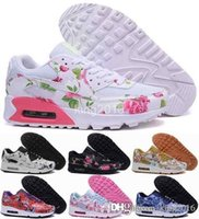 airmax shoes - 2016 Air Max City Rose Flower Running Shoes For Women Valentine s Day LON TKO Woman Floral Airmax Sport Sneakers Maxes Eur