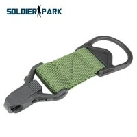 Wholesale Canvas Molle Tactical Backpack Vest Buckle Outdoor Military Hunting Rifle Gun Sling Clip Rock Climbing Belt Strap Connector