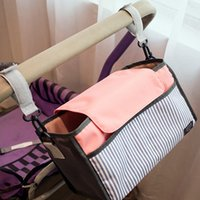 baby carriage baskets - Baby Stroller bag Nappy Diaper bag carriage hanging basket Cup Holder storage organizer baby Stroller Accessories