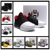 2017 Harden Vol. 1 Crazylight Boost Chaussures de Basketball pour Hommes USA Low Summer Tour Olympic Ghost Pepper High Quality Vol. 1 nations pionnières