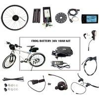 Prezzi Kit e bike-Fai da te il tuo Kit E-bici elettrica della bicicletta elettrica della bici del corredo con la batteria Bike Kit elettrico con display freno leva dell'acceleratore (CK-RG)
