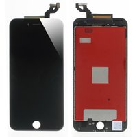 Wholesale 1pcs Grade AAA No Dead Pixel For iPhone s LCD Display with D Touch Screen Digitizer Assembly Black or White