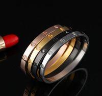 China fabricante Venta al por mayor personalizada de acero inoxidable joyería último diseño de amor para siempre pulseras brazaletes para los amantes del día de San Valentín regalo