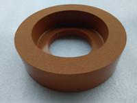 Wholesale Good Quality S Polish Disc Rubber Polish Cup Wheel Glass Edger Machine Disc Free Ship