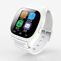 Nouveau Bluetooth Montres Smart M26 Montre pour iPhone Samsung HTC téléphone Android santé smartwatch femme 3g regarder gratuitement le téléphone DHL VS DZ09 U8