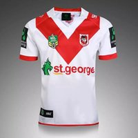 Wholesale Thai quality New Zealand Rugby New St George Illawarra Dragons NRL Home SS Rugby Shirt St George Illawarra Dragons Rugby Jersey