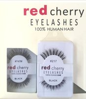 Wholesale Factory direct export red cherry Eyelash red cherry handmade false eyelashes Beauty Sale Free shining