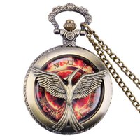 antique pocket watches for sale - Hot Sale quot Hungry Game quot Pocket Watch Necklace For Christmas Xmas Gift relogios P941