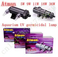 atman aquarium tank - NEW Atman UV W L H Aquarium Pond Fish Tank UV Sterilizer UV Lamp Clarifier Ultraviolet Sterilizer For Filter Pump LIGHT