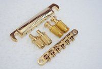 Wholesale Golden Tune o matic Bridge Tailpiece For Les Paul bridge for Gibson Les Paul