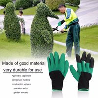 Wholesale Universal Breathable Solid Color Garden Household Gloves Waterproof Non Slip Beach Protective Gloves For Digging