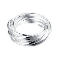Wholesale Nine circular ring Europe and the United States sterling silver ring Fashion lovers an engagement ring