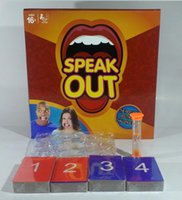 animal music games - Speak Out Game KTV party game cards for party Christmas gift newest best selling toy HHAS