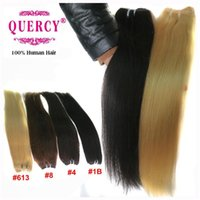 acid black dyes - Indian Malaysian Peruvian virgin hair wefts human hair weaves double drawn hair extensions straight B off Quercy Hair