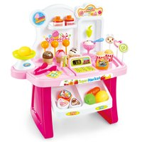 best furniture toys - Mini market children s simulation market educational toy for kid lovely classic electric furniture toy best gift for child NO