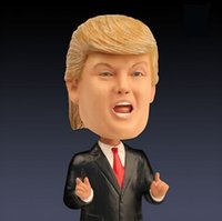 baby toys usa - Cute Baby Toys Doll USA New President Donald Trump Bobblehead And Candidate Hilary Clinton Doll Celebrity Figure For Kids Gifts For Chirsmas