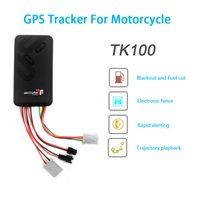 acc gps - GT06 Motocycle GPS Tracker TK100 Mini Vehicle GSM GPRS GPS tracker SOS alarm ACC Anti theft alarm Remote cut oil or circuit