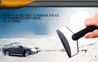 Cheap Wholesale-Good deal Winter Road Trip Travel Kit Mini Auto Car Vehicles Ice Scraper Snow Removal Shovel - No Harm to Window Glass
