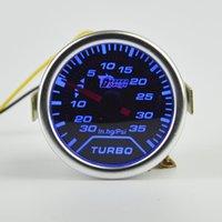 Wholesale mm Car Turbo Boost Gauge Psi Vacuum Meter Turbo Boost Pressure Gauge mm Auto Gauge Meter Smoke Vacuum Gauge