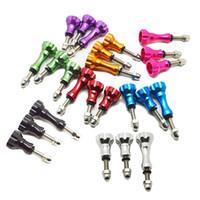 aluminum nuts bolts - GoPro Hero Accessories Long Short Thumb Knob Stainless Aluminum Bolt Nut Screw For Go Pro Hero SJ4000 GP50