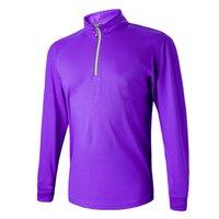 La nouvelle chemise à la mode de golf de marque Long-sleeve de golf d'usage de marque 9 couleurs S-XXL taille dans le choix pour le T-shirt de golf Livraison gratuite