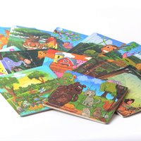 Wholesale Best Gift styles for choose Educational Toys Wooden Puzzle Cartoon Animal Kids Children Wooden pieces Jigsaw Puzzle