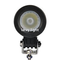 Wholesale 10W LED Round Car Driving Light Daytime Running Light DRL Fog Lamp LED Offroad Work Light For Motorcycle Tractor Boat SUV Flood