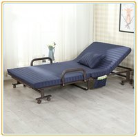 Wholesale Hotel Extra Rollaway Folding Bed with Fabric Cover Foam Mattress cm