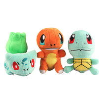 Wholesale Poke Plush Toys Kid Toy Education Toy Charmander High Quality Pikachu cm Soft Stuffed Dolls Toy New Years Gift
