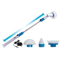bathtub cleaning brush - Spin Scrub bathtub power cleaner brush Bathtub Tiles Power Floor Cleaner Brush Mop Scrubs Clean