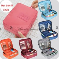 Wholesale Cosmetic Bags Cases bra underwear pocket Travel mate bag Organizer Portable Outdoor Hanging Wash Storage Pouch Sorting Makeup Bags L189 M