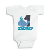 baby boy shower personalized - Baby Birthday onesie Personalized Onesie Boy girl baby shower ideas girl baby clothes girl baby gift personalized newborn girl gift