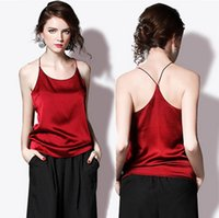 Wholesale Sexy Blusa summer Strap crop top Back Cross sleeveless Women tops camis camisole Ladies croped black