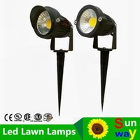 ac cap - 10X New Arrival COB Lamp W W LED Spot Garden Lawn Outdoor Light V Warm White Outdoor Landscape Waterpoof Light Tang with Cap